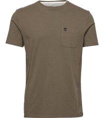ss dun-riv pocket t t-shirts short-sleeved timberland