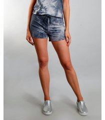 coin 1804 women's tie dye shorts