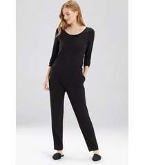 bardot essentials pajamas, women's, black, size xl, josie