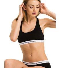 tommy hilfiger 1387904878 bralette top and body longwear women black