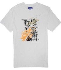 camiseta con estampado para hombre freedom 00774