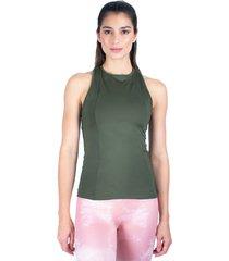 blusa verde militar vivacolors lines