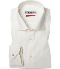 ledub dress overhemd slim fit antiek wit