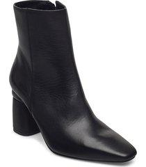 lucky shoes boots ankle boots ankle boot - heel svart jennie-ellen