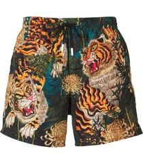 druk van de tijger zwembroeken