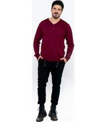 sweater violeta wellington polo club
