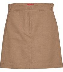 cavillo kort kjol beige max&co.
