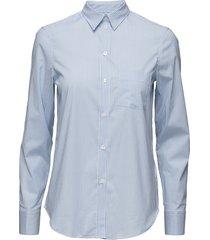 classic stretch shirt overhemd met lange mouwen blauw filippa k
