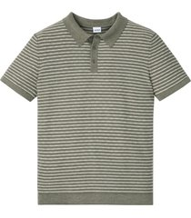 polo in maglia a maniche corte (verde) - john baner jeanswear