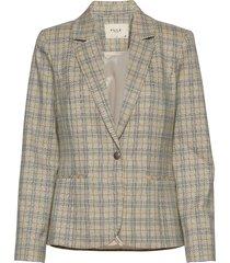pzjulia blazer blazers business blazers beige pulz jeans
