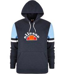 ellesse men's fleece logo hoodie