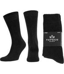 topeco 4 stuks mens socks plain * gratis verzending *