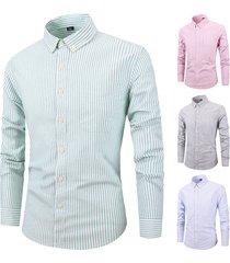 manica lunga girocollo a manica corta in cotone 100% cotone sottile adattabile traspirante camicia