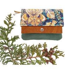 portfel boho mini - lotus green