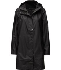 stala jacket 7357 regenkleding zwart samsøe samsøe