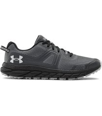 zapatilla gris under armour charged toccoa 3
