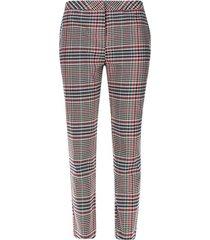 pantalón mini cuadros color rosado, talla 14