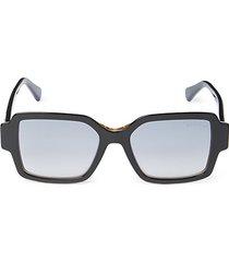 54mm solid square sunglasses
