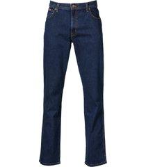 wrangler 5-pocket jeans texas stretch blauw