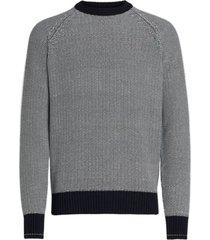 z zegna cotton crew neck sweater