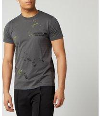 helmut lang men's standard painter t-shirt - pewter - l