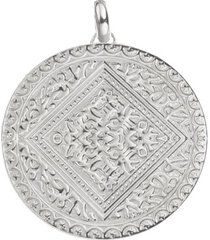 marie pendant, sterling silver