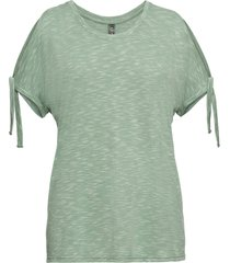 t-shirt med cut-outs
