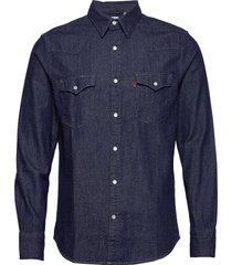 barstow western standard red c overhemd casual blauw levi´s men