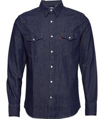 barstow western standard red c overhemd casual blauw levi´s men