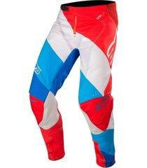 pantalon techstar venom rojo alpinestars