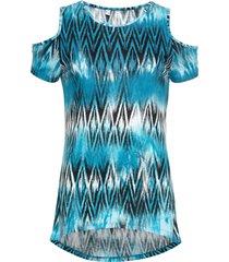 maglia con aperture (blu) - rainbow