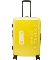 maleta expandible 20 amarillo imperial