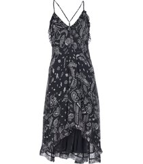 iro. jeans 3/4 length dresses