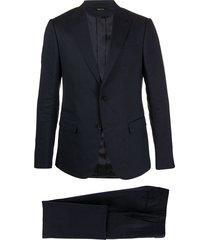 z zegna tailored suit set - blue
