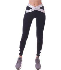 calça simony lingerie legging cós elastico new zeland preto - kanui