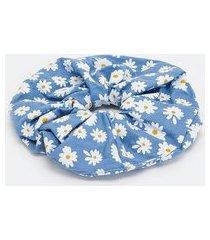 scrunchie estampa de margaridas | accessories | azul | u
