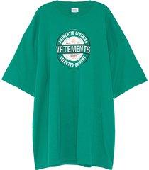 'beer badge' logo print t-shirt