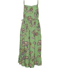 olivia jurk knielengte groen masai