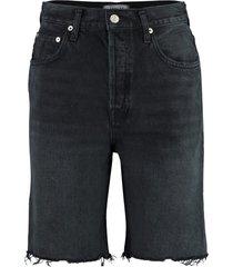 agolde denim bermuda shorts