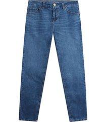 jean slim unicolor hombre color azul,talla 32