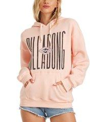 billabong juniors' skinny heritage fleece hoodie