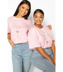 100% sales donated to charity t-shirt, pink