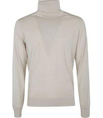 ermenegildo zegna light turtleneck plain sweater