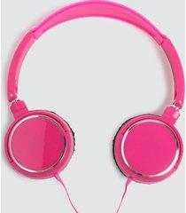 audifonos diadema rosado color rosado, talla uni