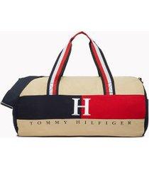 tommy hilfiger men's classic duffle bag khaki -
