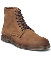 boxxie suede shoe snörade stövlar brun sneaky steve