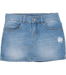 minifalda indigo medio offcorss