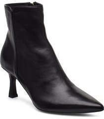 booties 3354 shoes boots ankle boots ankle boots with heel svart billi bi
