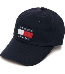 gorra azul navy tommy hilfiger