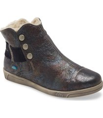 cloud aline bootie, size 6us in cosmic blue leather at nordstrom